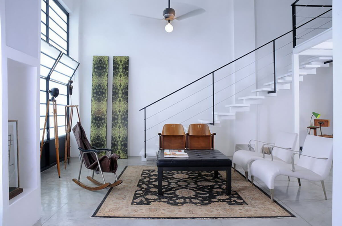65sqm Loft in Jaffa Designed by Sami Shalom Knafo - Fineshmaker