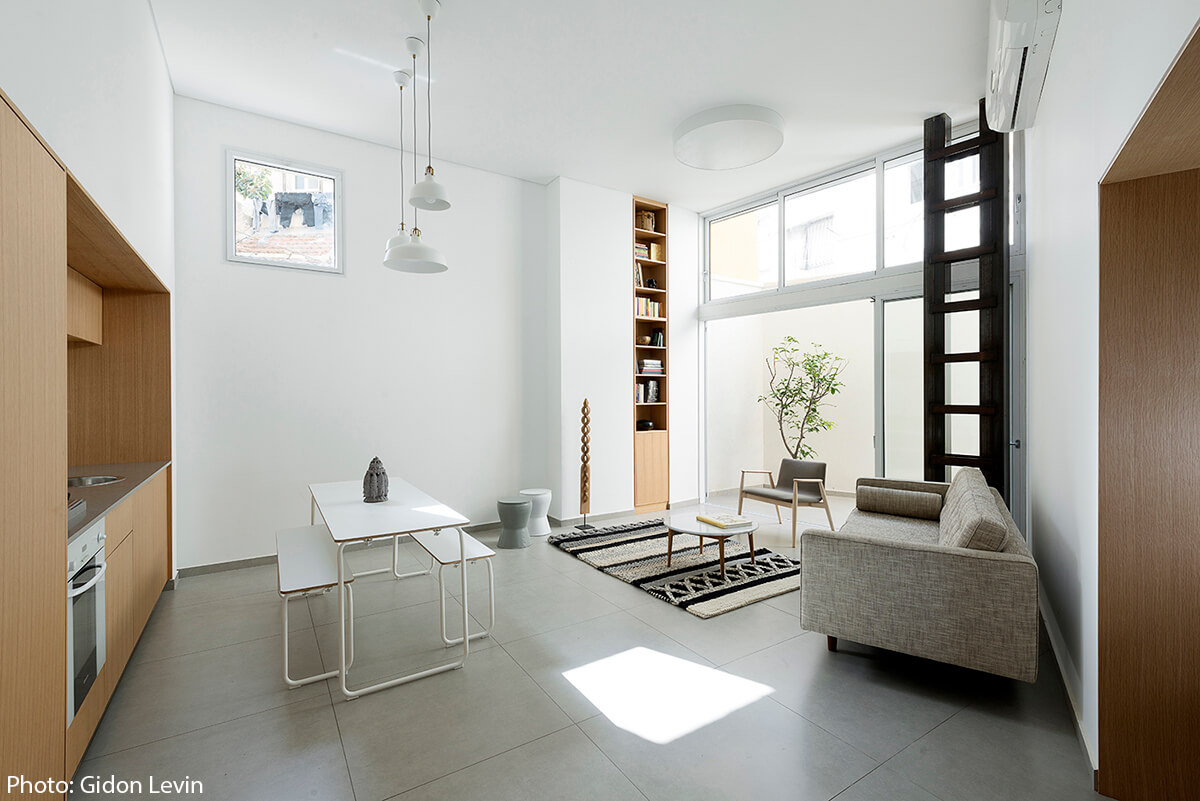 50sqm Apartment Jaffa Fineshmaker