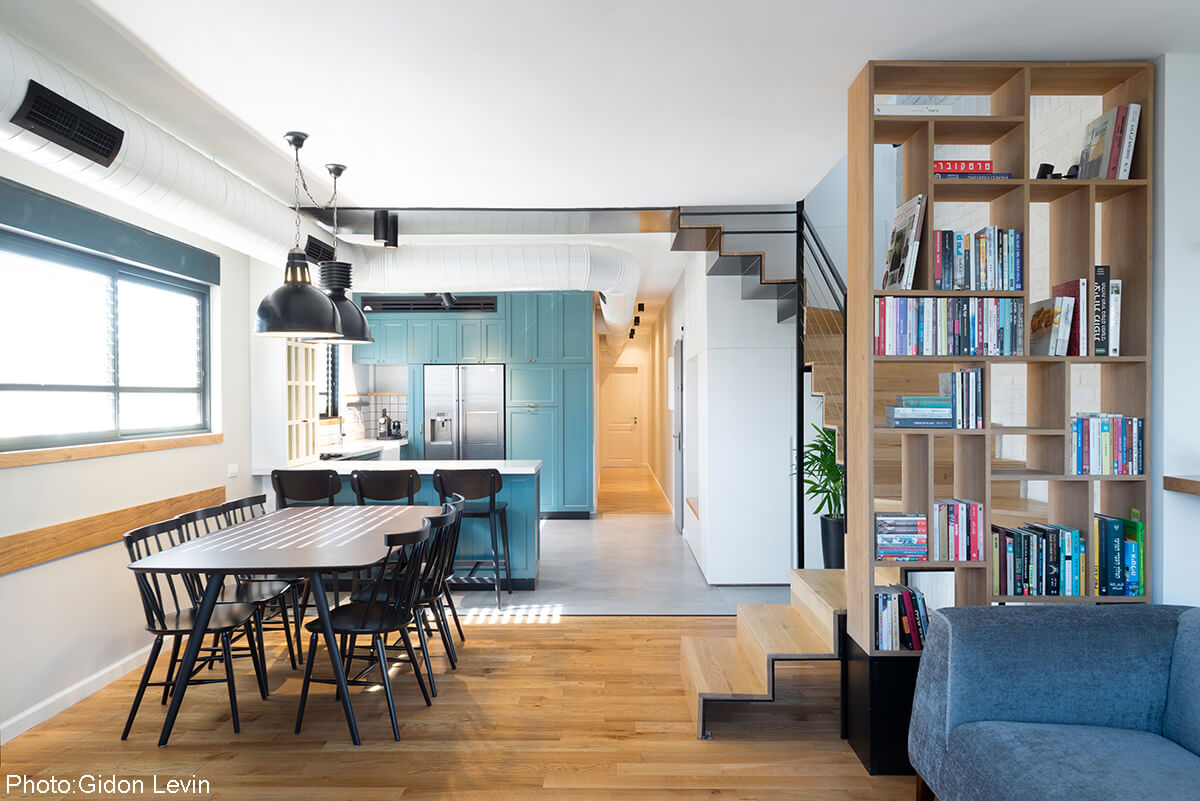 Interior design of a charming apartment
