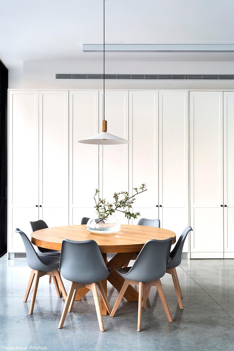 Super stylish dinning room designed by Henkin Shavit Architecture - Fineshmaker