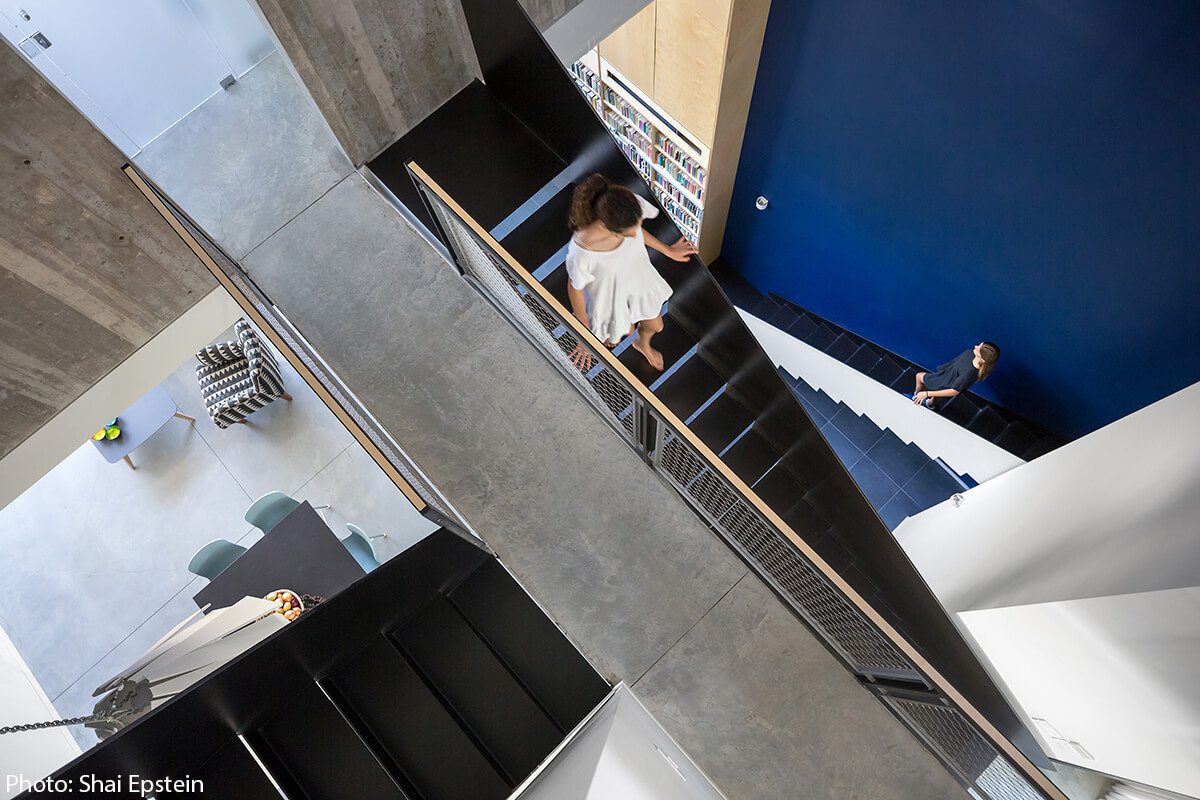 Staircase by Adi Wainberg – Arbejazz Architecture