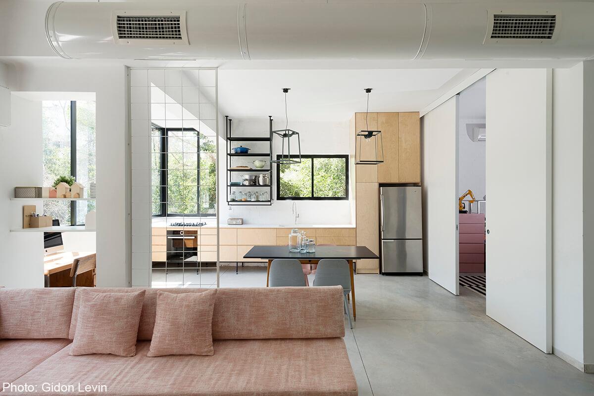Cool apartment designed by Matka Studio - Fineshmaker