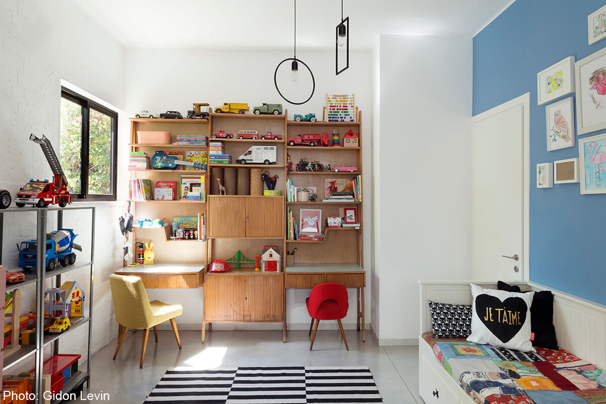 Children room in 100sqm apartment designed by Matka Studio - Fineshmaker