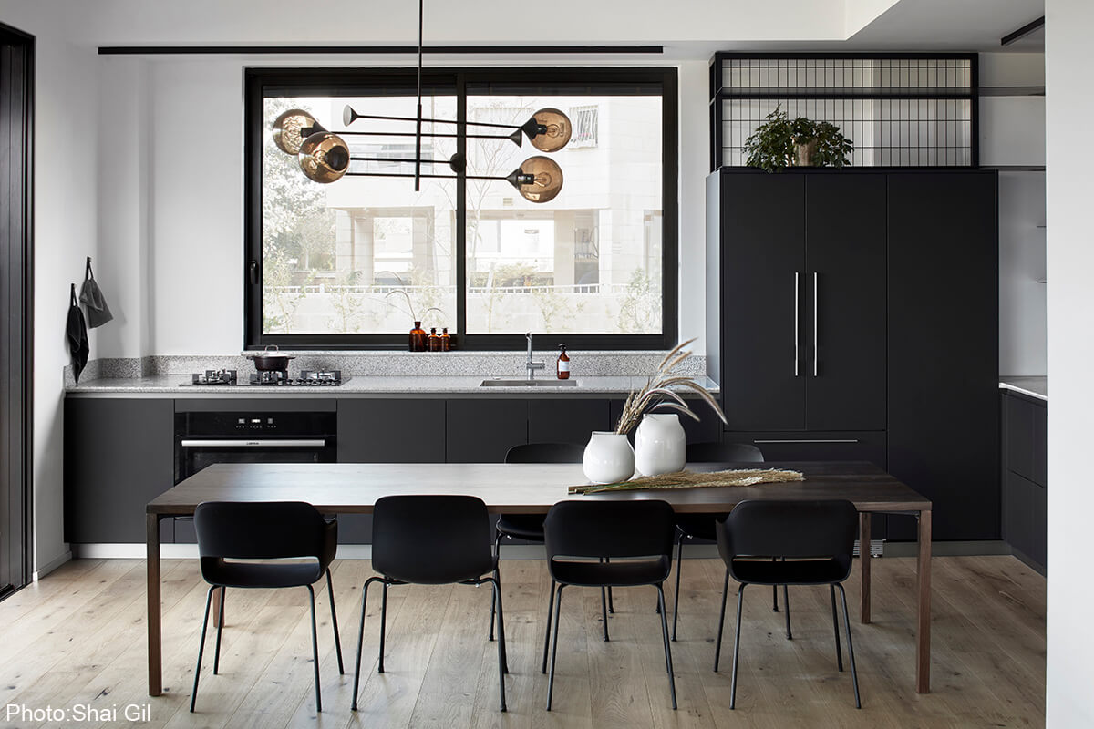 Monochrome Apartment Design